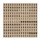 TH93116 Tim Holtz® Idea-ology™ Alpha Chips - Elementary DISCONTINUED